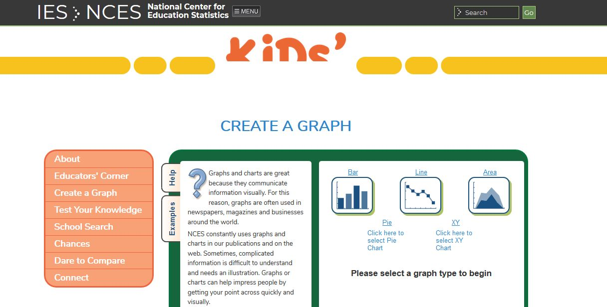 15 line graph makers - NCES KidsZone