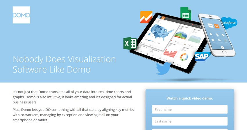 Easy Free Graph Maker for Data Visualization - Domo